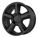 OE Creations 131 Matte Black Wheels