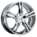 Pacer 786C Ideal Chrome Wheels