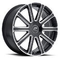 Platinum 410BM Divine Gloss Black Wheels