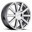 Platinum 410V Divine Ultra-V Bright PVD Wheels