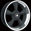 RIDLER STYLE 695 WHEELS MATTE BLACK/MACHINED