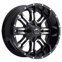 TIS 535MB Gloss Black Wheels