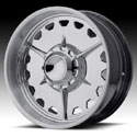 American Racing Custom Shop Max Grundy Stella Polished Forged Wheels (Series VF488)