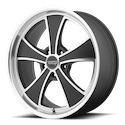 American Racing VN807 Wheels Satin Black