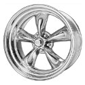American Racing Custom Shop Torq Thrust II Chrome Center Wheels (VNC405)