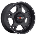 Worx 802SB Havoc Satin Black Wheels