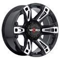 Worx 803BM Beast Gloss Black Wheels