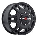 Worx 803SB Beast Dually Satin Black Front Wheels