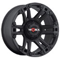 Worx 803SB Beast Satin Black Wheels