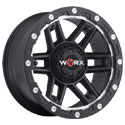 Worx 804SB Tank Satin Black Wheels