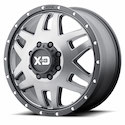 Buy XD Series Machete Front Dually Wheels Gray/Black [XD130 Wheels] at Discount Prices from tiresbyweb.com by calling 800-576-1009.