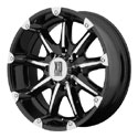 XD Series Badlands Wheels Glossy Black [XD779 Wheels]