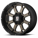 Buy XD Series Buck 25 Wheels Black/Dark Tint [XD825 Wheels] at Discount Prices from tiresbyweb.com by calling 800-576-1009.
